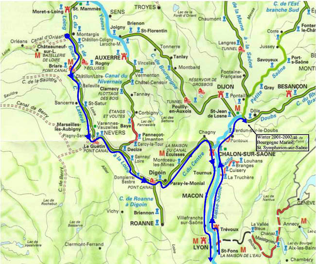 France Hotel And Travel Guide Touring By Car Or Camping Trip